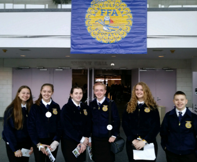 FFA members attend State Conference