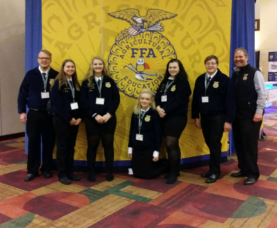 Local chapter attends 92nd National FFA Convention