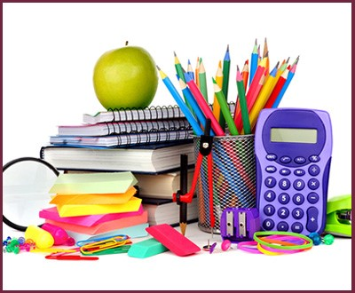 2018-2019 School Supply Lists Available