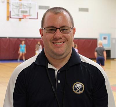 Welcome New PE Teacher Joshua Ake
