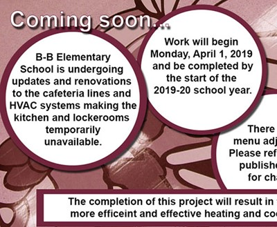 Capital Project Phase 2 begins at Elementary School
