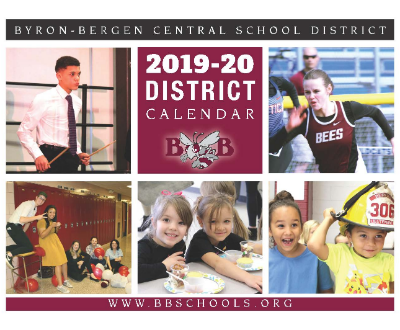 2019-20 wall calendar now available