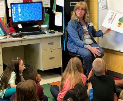 Guest readers visit the Elementary School
