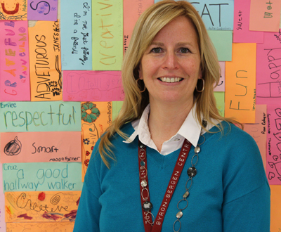 Welcome, Assistant ES Principal Betsy Brown
