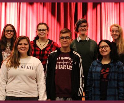 Students selected for prestigious choir