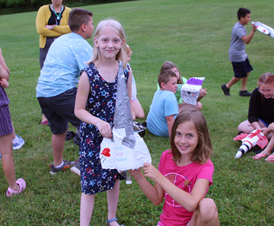 Annual 4th Grade Rocket Launch