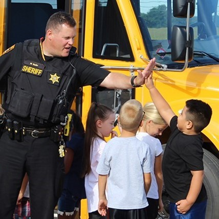 school bus safety day