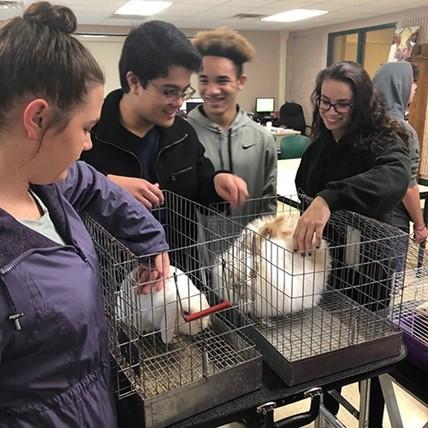 students visit BOCES