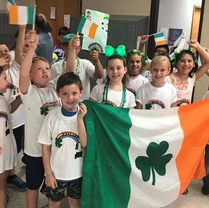 Ireland at Jr. Olympics.