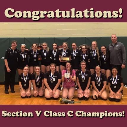 champion volleyball team