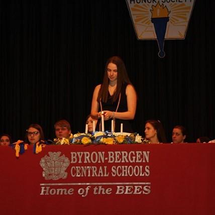 NSHS ceremony
