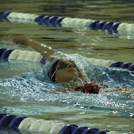 varsity swimmer