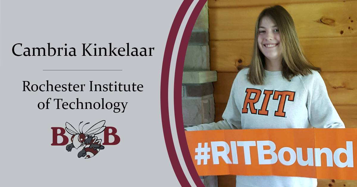 Kinkelaar Senior decision day graphic
