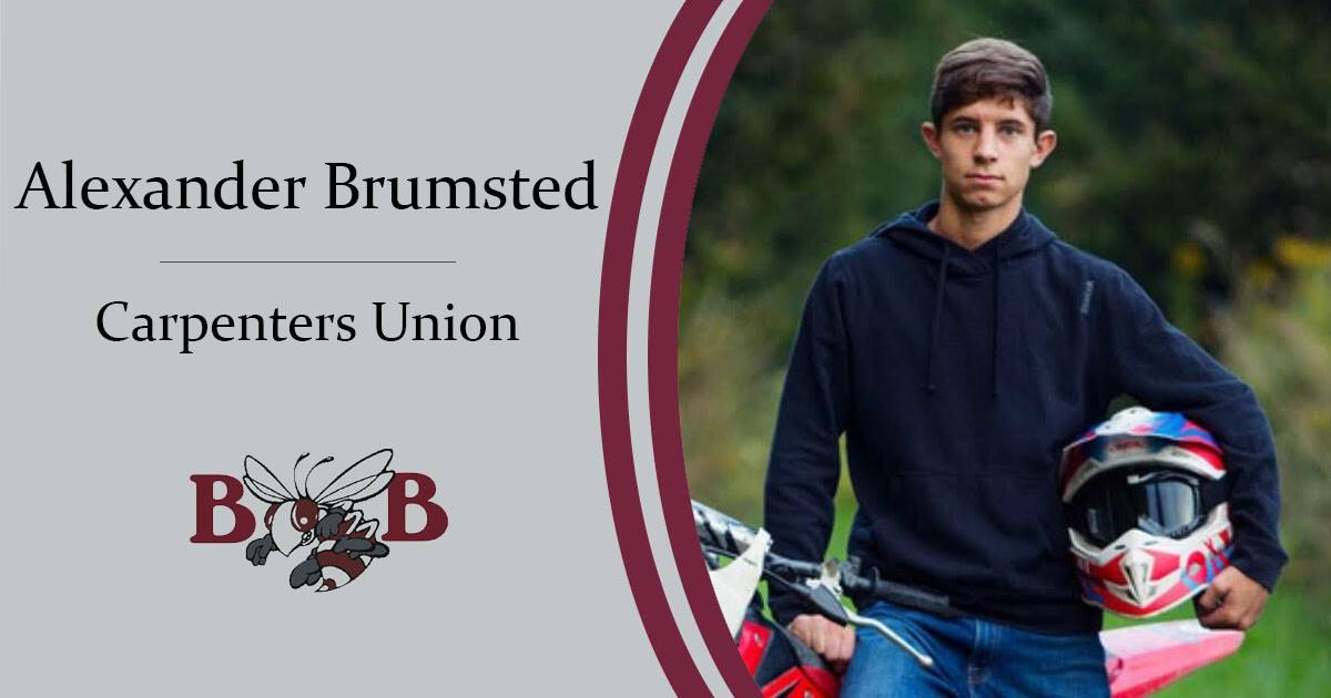 Brumsted Senior Decision Day graphic