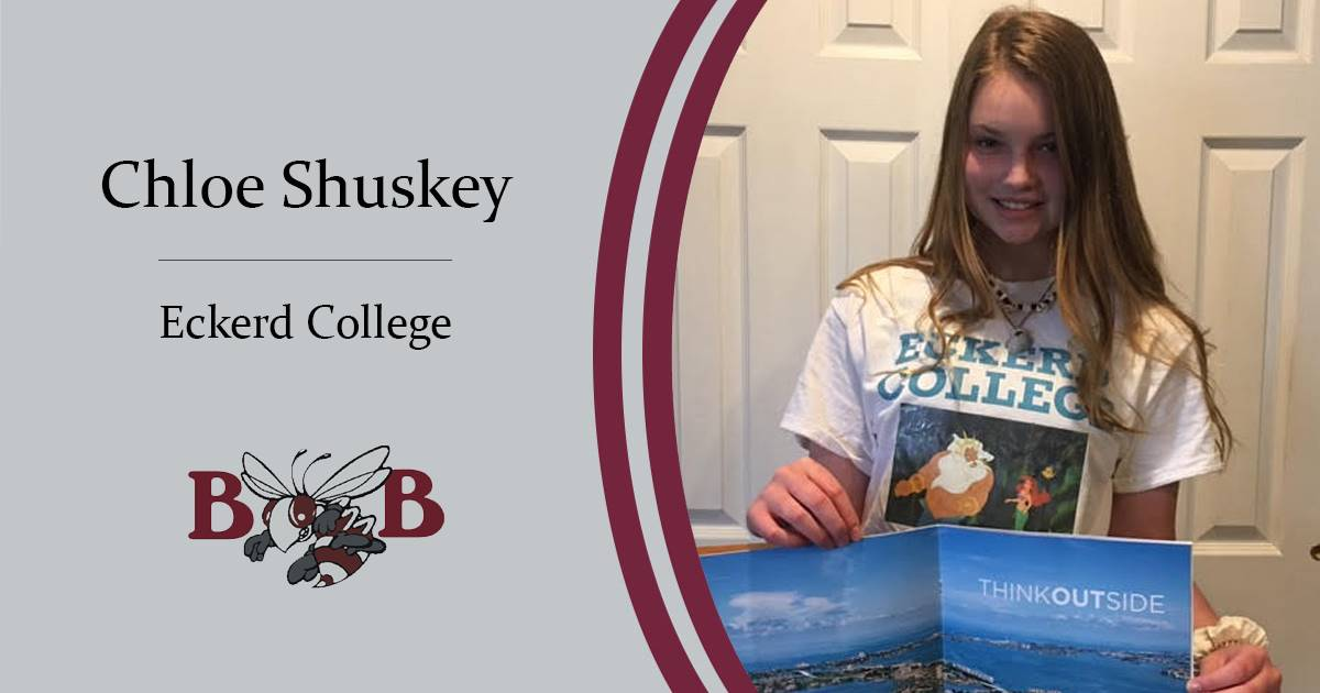 Shuskey Senior decision day graphic