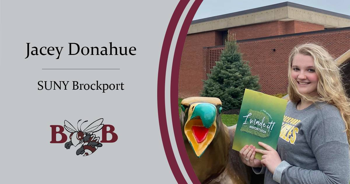 Donahue Senior decision day graphic