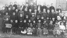 A photograph of students taken in 1891